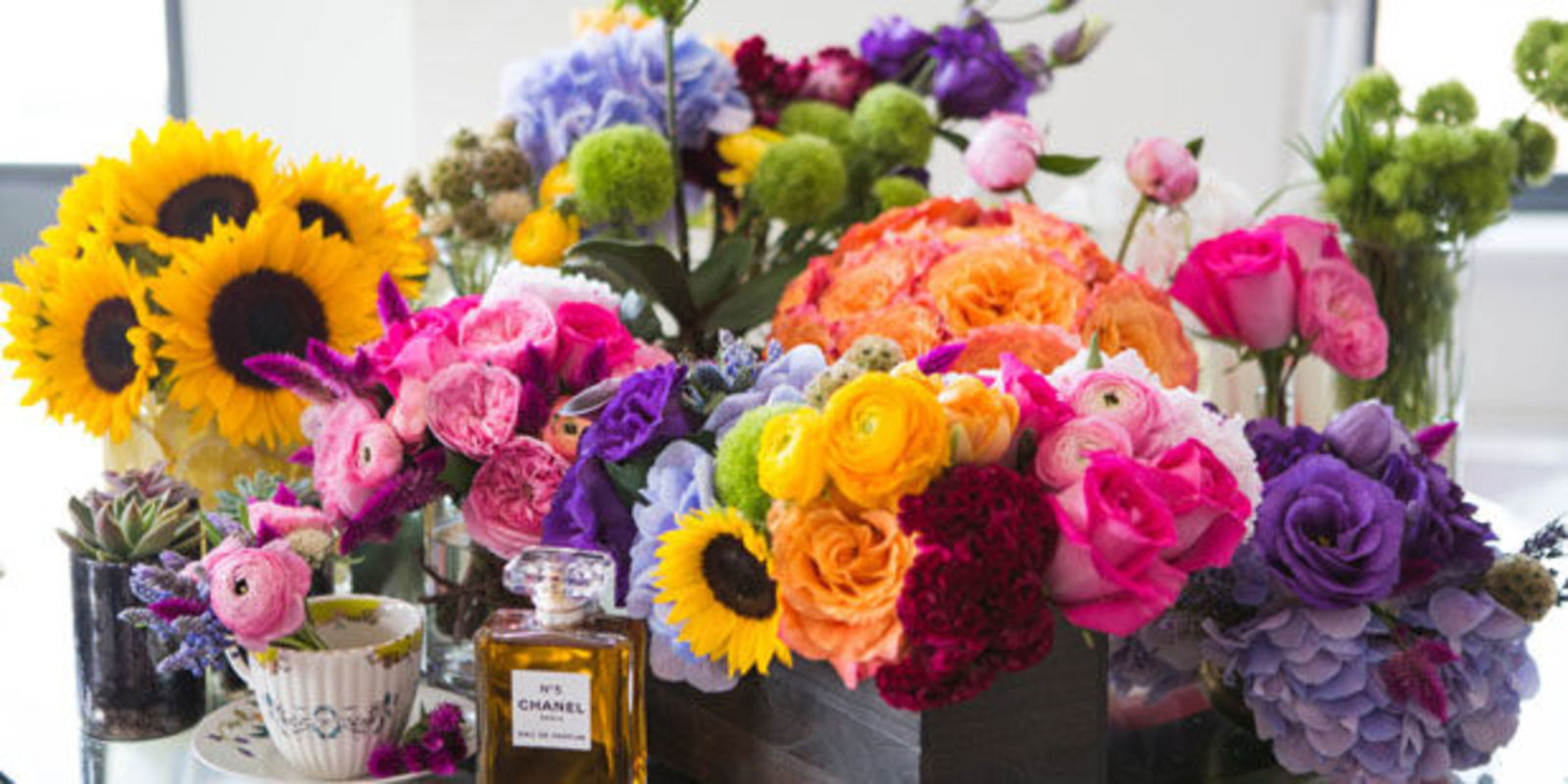 how to make flowers look better
