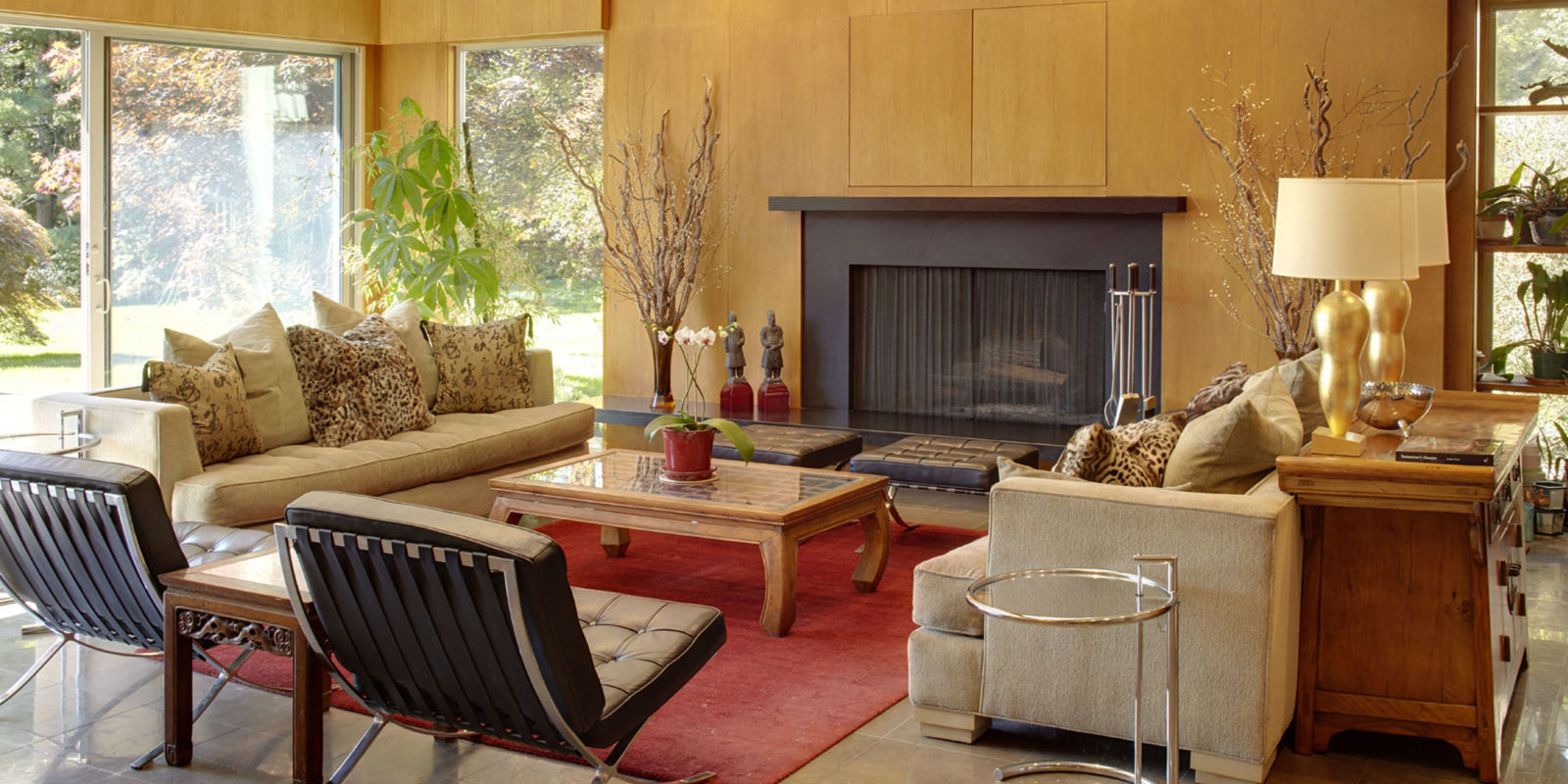10 Large Living Room Ideas To Fall In Love With: 10 Mid-Century Living Rooms