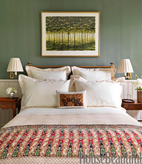 Green Paint Bedroom Ideas