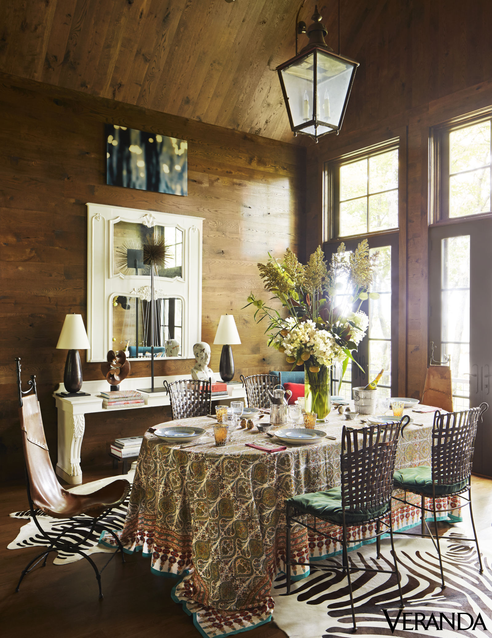 50 Strikingly Modern Dining Rooms That Inspire You To: How Designer John Oetgen Created A Modern, Rustic Mountain