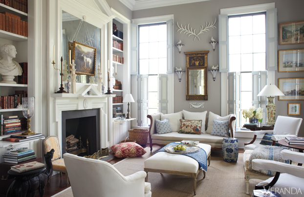 12 of the most gorgeous living rooms in the south for Gorgeous living rooms