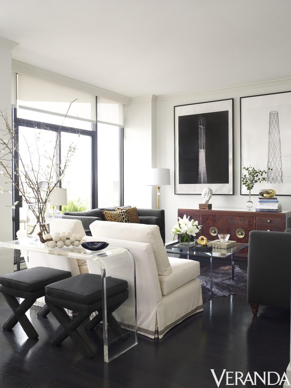 House tour a texas penthouse as fashionable as its owner - Houston interior design magazine ...