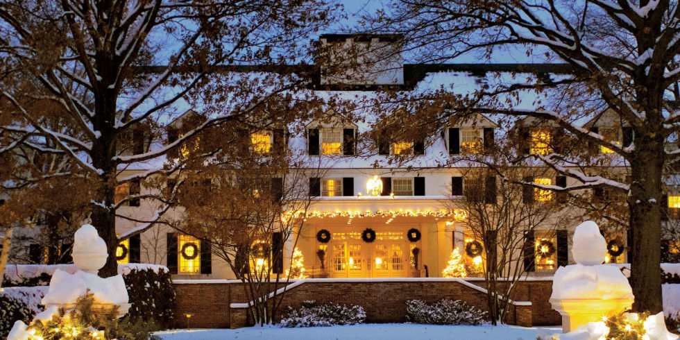 Christmas Decorations In Vermont : Christmas in woodstock vermont is as magical you d imagine
