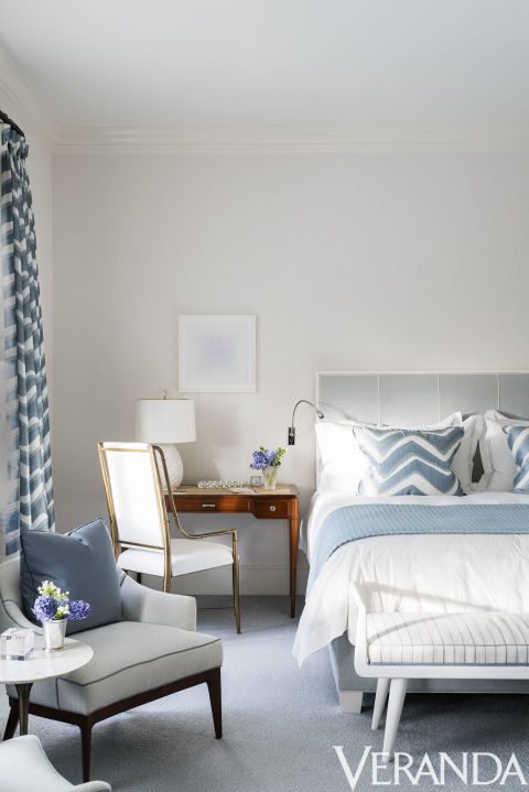In A Palm Beach Bedroom Designer David Kleinberg Incorporates A Nbsp Custom Bed That S Nbsp