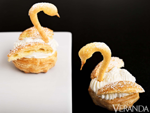 pastry swans tutorial