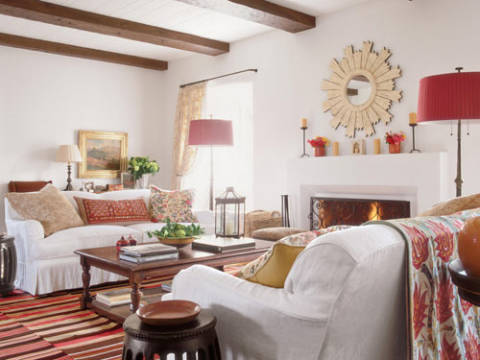 Kathryn Ireland Designs A Colorful California Home