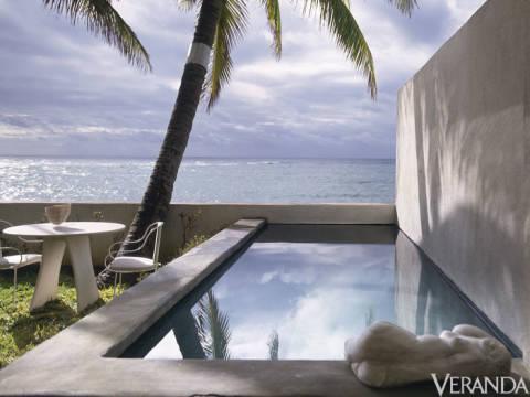 Geoffrey beene beach house for Pool design honolulu