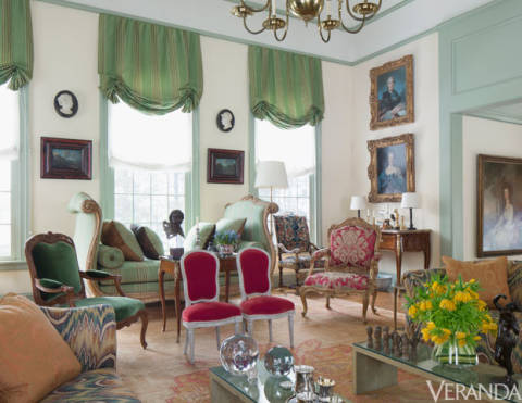 Elegant Connecticut Country House Robert Couturier