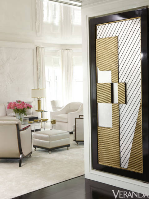 Glittering heights victoria hagan 39 s nyc apartment for Apartment design victoria