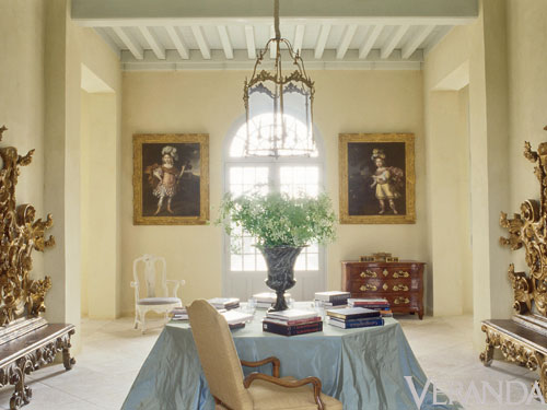 French Design Inspiration Axel Vervoordt 39 S Chateau De Tertre