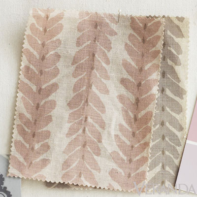 Woodperry is a brushstroke stripe by Veere Grenney; 212-759-7888.