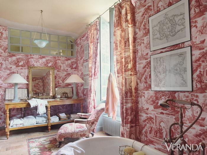 attic wallpaper ideas - History of Toile Schumacher Toile