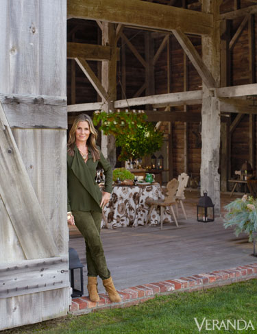 Aerin Lauder Southampton Home New Years Lunch