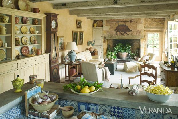 restored farmhouse in france old world charm marston luce design. Black Bedroom Furniture Sets. Home Design Ideas