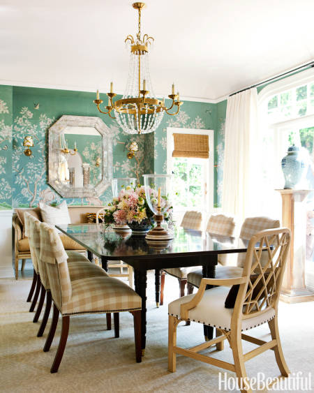 A full home makeover where the before is just as stunning for Mark d sikes dining room